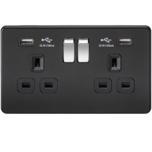 Double gang sockets